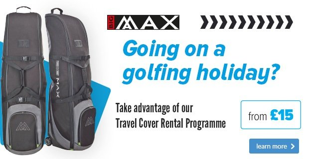 Big Max Travel Cover Rental - from £15