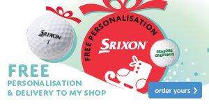 Srixon free ball personalisation - from £22.99